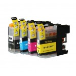 COMPATIBLE BROTHER LC 131 133 VALUE PACK PRINTER INK CARTRIDGE