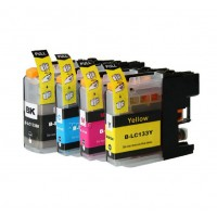 BROTHER LC 131 133 BLACK COMPATIBLE PRINTER INK CARTRIDGE