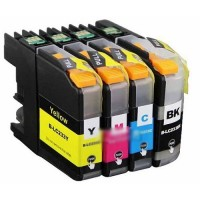 BROTHER LC 233 BLACK COMPATIBLE PRINTER INK CARTRIDGE