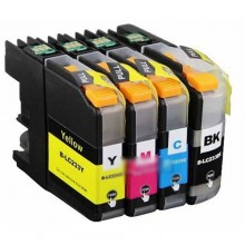 BROTHER LC 235 YELLOW COMPATIBLE PRINTER INK CARTRIDGE