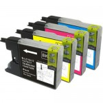 BROTHER LC 40 73 77 BLACK COMPATIBLE PRINTER INK CARTRIDGE