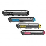COMPATIBLE BROTHER TN251 TN255 VALUE PACK PRINTER TONER CARTRIDGE