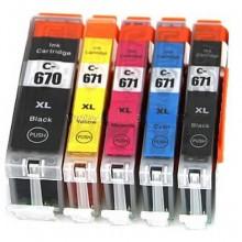 CANON PGI-670 CLI-671 VALUEPACK COMPATIBLE PRINTER INK CARTRIDGE