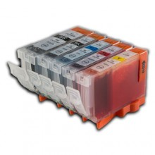 CANON BCI-3E/ 5/ 6 VALUE PACK COMPATIBLE PRINTER INK CARTRIDGE