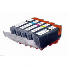 CANON PGI-520 CLI-521 VALUE PACK COMPATIBLE PRINTER INK CARTRIDGE