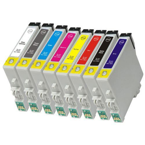 EPSON T0870-T0879 8C VALUE PACK COMPATIBLE PRINTER INK CARTRIDGE
