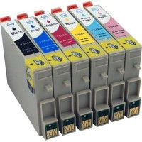 EPSON T0491-T0496 6C 49 VALUE PACK COMPATIBLE PRINTER INK CARTRIDGE