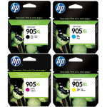 Genuine HP 905 XL Value Pack Printer Ink Cartridge