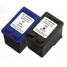 REMANUFACTURED HP 56 57 VALUE PACK PRINTER INK CARTRIDGE