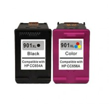 REMANUFACTURED HP 901 VALUE PACK PRINTER INK CARTRIDGE
