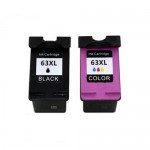 REMANUFACTURED HP 63 VALUE PACK PRINTER INK CARTRIDGE