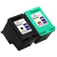 REMANUFACTURED HP95 HP98 VALUE PACK PRINTER INK CARTRIDGE