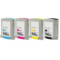HP 940 YELLOW COMPATIBLE PRINTER INK CARTRIDGE