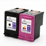 REMANUFACTURED HP 61 XL BLACK AND COLOUR VALUE PACK PRINTER INK CARTRIDGE