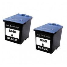 M40 BLACK FAX INK TWIN VALUE PACK