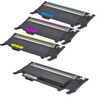 COMPATIBLE SAM CLT-407S VALUE PACK PRINTER TONER CARTRIDGE