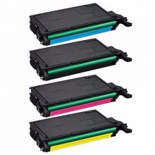 COMPATIBLE SAM CLP-610/ 660 CYAN PRINTER TONER CARTRIDGE