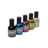 UNIVERSAL Inkjet Refills 3 Colors Dye 25ML 4PC FOR PRINTER INK CARTRIDGE
