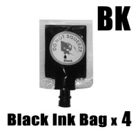 Ink Station Ink Bag for CANON 37 40 540 Black Printer Ink Cartridge