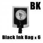 Ink Station Ink Bag for HP 21 56 74 92 94 Black Printer Ink Cartridge