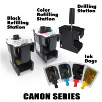 Ink Station for CANON 37 40 540 Black Printer Ink Cartridge