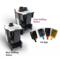 Ink Station for HP 92 94 98 74 Inkjet Black Printer Ink Cartridge